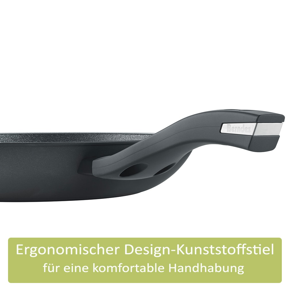 Berndes Bratpfanne b.green Alu Recycled Induction schwarz 20 cm