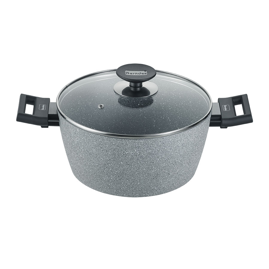 High casserole with glass lid Aktion Alu Induction Special Edition 162,6 cm
