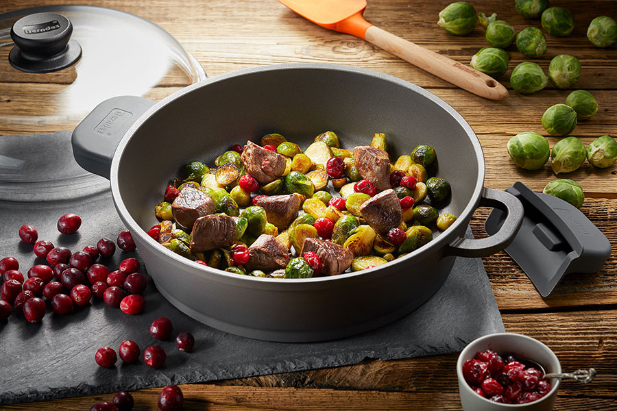 Serving Pan with glass lid Classics Bonanza® Induction 28  cm