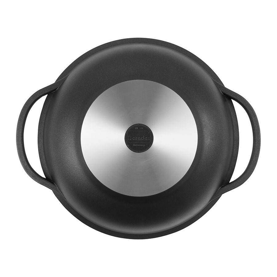 Wok with domed glass lid and accessories Classics Titanium Special Edition 18 cm