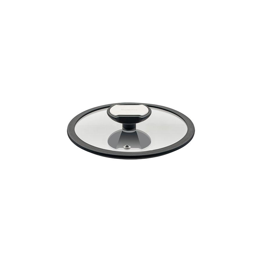 Berndes Balance Glasdeckel mit schw. Silikonrand 16 cm