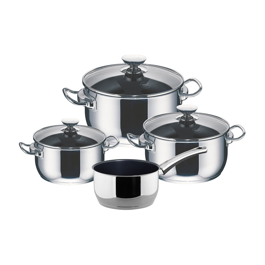 4-pieces cookware set Allrounder Injoy® Special Edition
