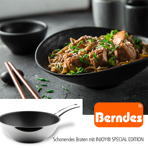 Berndes Stielwok Injoy Special Edition Induction 28 cm