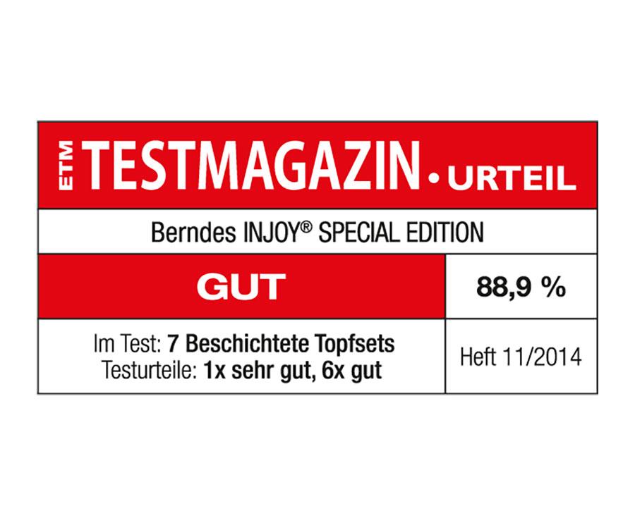 Berndes Kochtopfset 4-teilig Injoy Special Edition