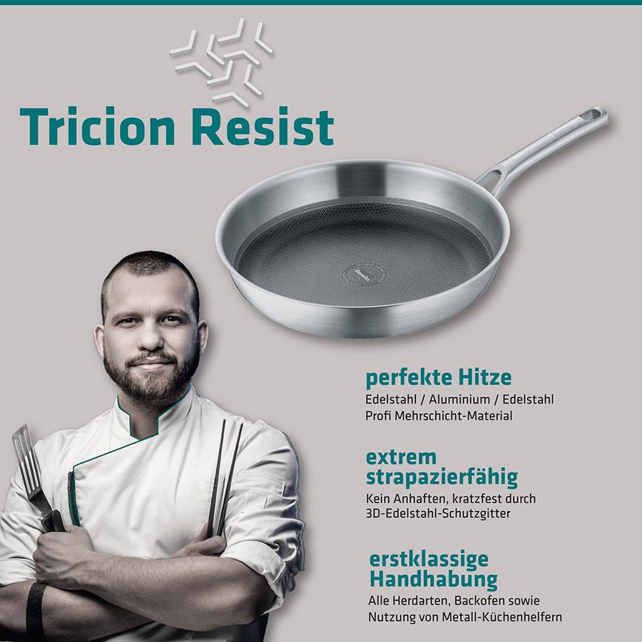 Berndes Bratpfanne Tricion Resist 28 cm