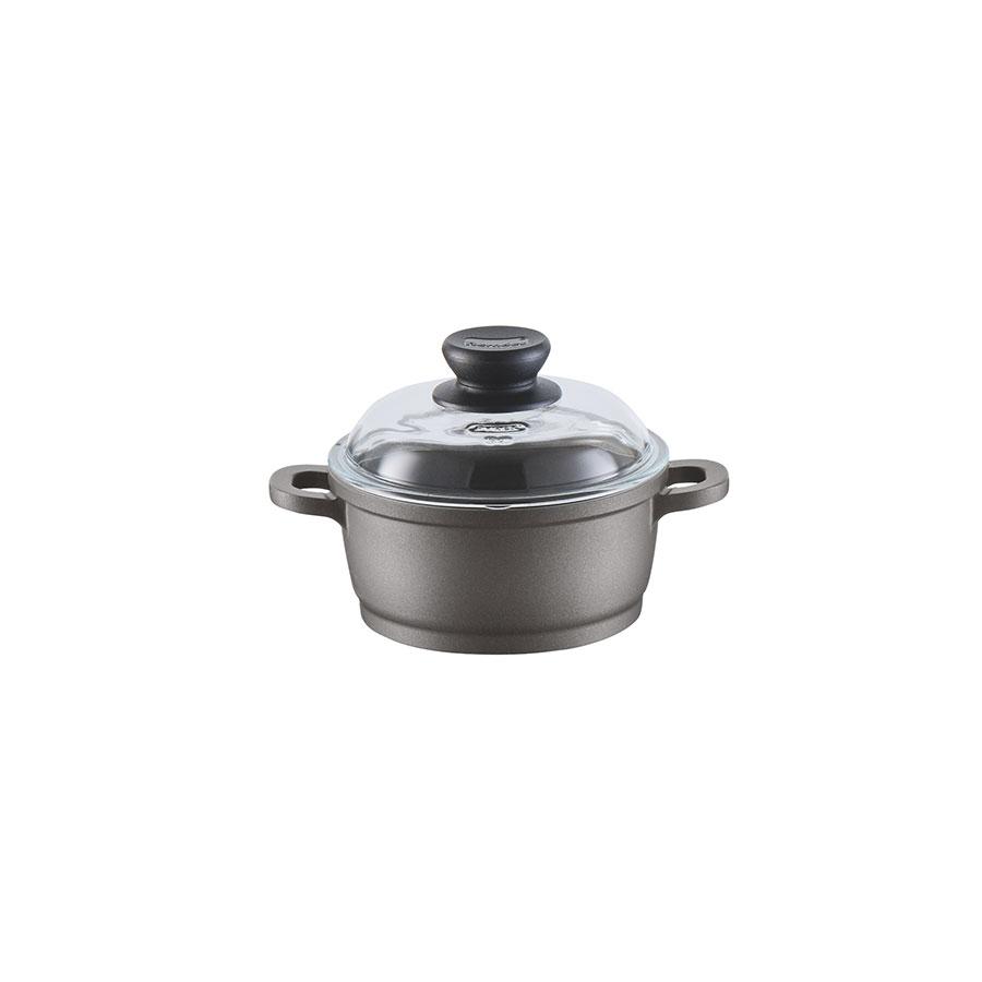 High casserole with glass lid Classics Bonanza® Induction 16  cm