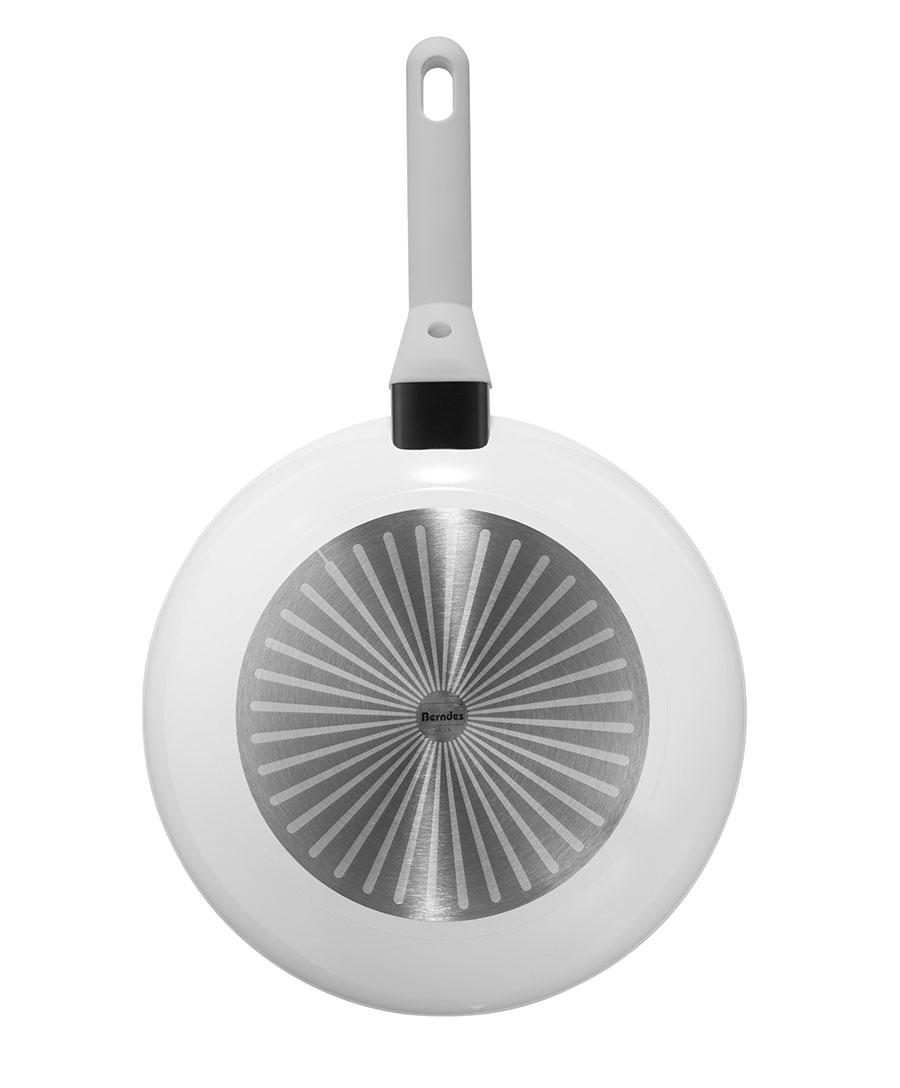 Berndes Schmorpfanne Veggie White Induction 24 cm